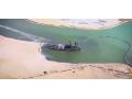 巨型海底挖沙机,沙子直接抽上岸,我也是第一次见 (2423播放)