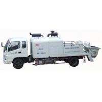 HBC85车载式混凝土输送泵