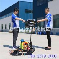 双人背包勘探钻机BXZ-2便携式取芯钻机大马力汽油机动力