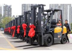 柳工大批量C系列和大吨位叉车交付墨西哥高端客户