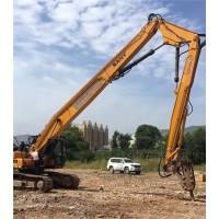 挖掘机高拆臂 三段式拆楼臂生产各品牌型号