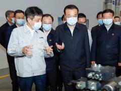 3月25日李克强总理考察江苏恒立液压